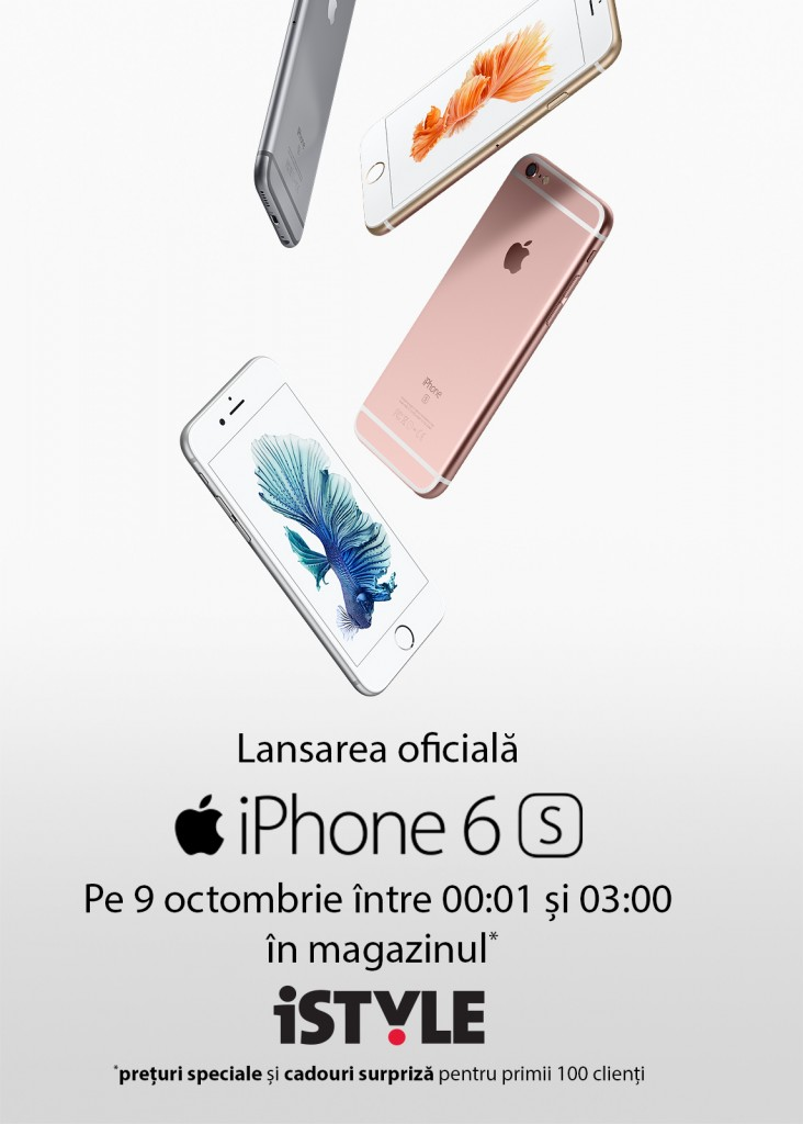 Lansare iPhone 6s - Polus Center