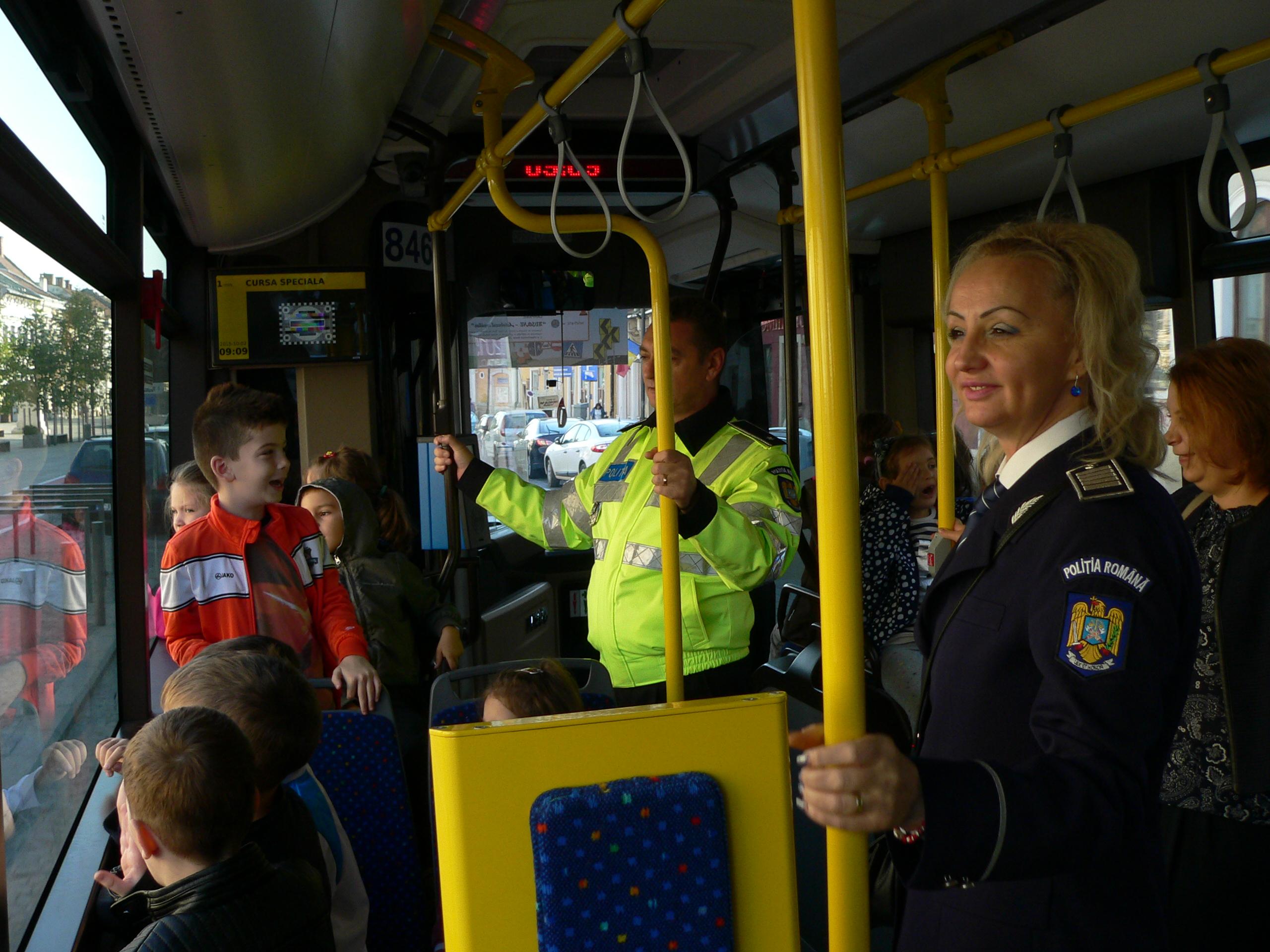 Campanie de educaţie rutieră: Busone – Autobuzul copiilor, Ediţia a II-a