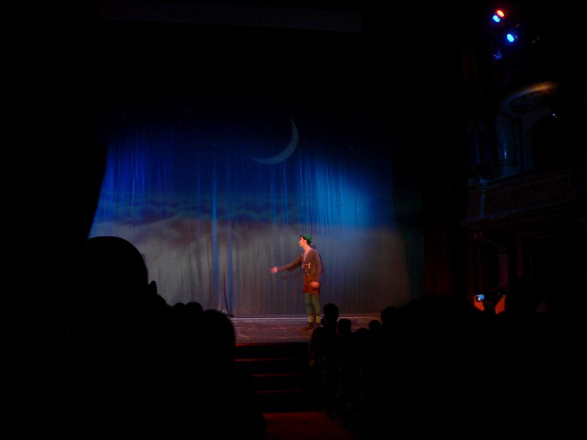 """Sala plină la spectacolul """"Peter Pan"""", la Opera Română! O clasă întreagă a primit bilete gratuit"""