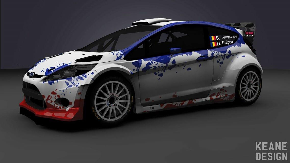 Simone Tempestini va pilota în premieră un model  Ford Fiesta WRC
