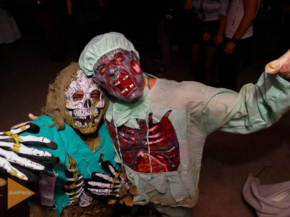 halloween party la conti