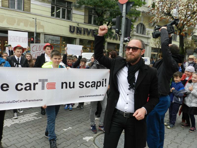 marsul lecturii festivalul international de carte transilvania