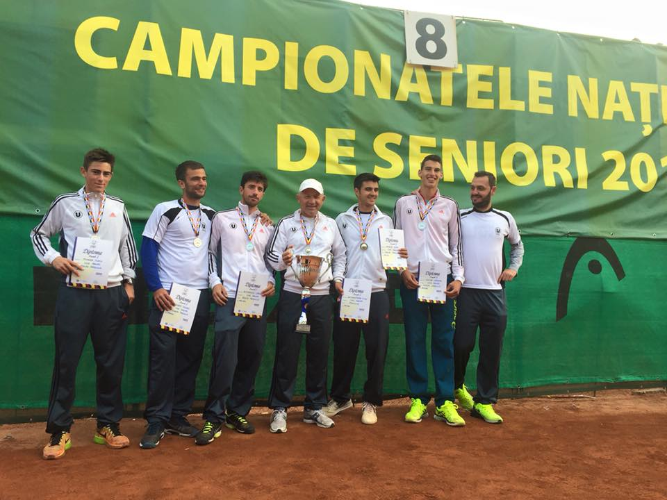 u cluj tenis de camp vicecampioana nationala