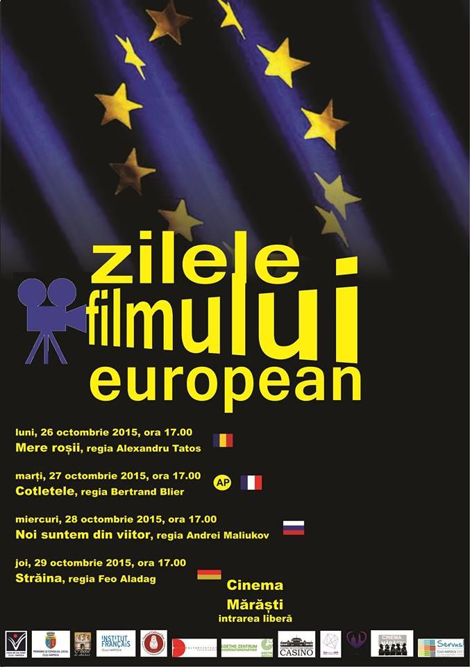 zilele filmului european cinema marasti 2015