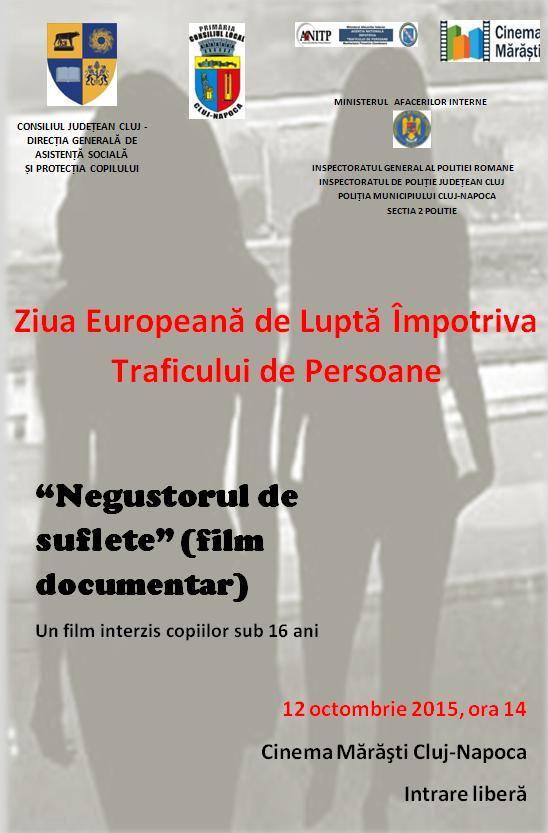 ziua europeana de lupta impotriva traficului de persoane