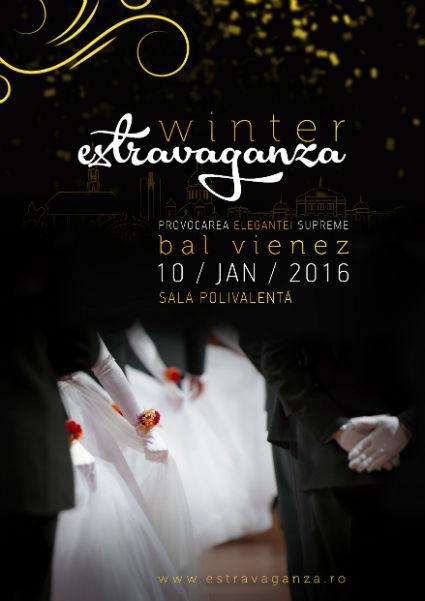 """Provocarea Eleganței Supreme """"Winter Estravaganza"""", la Sala Polivalentă, în 10 ianuarie 2016"""