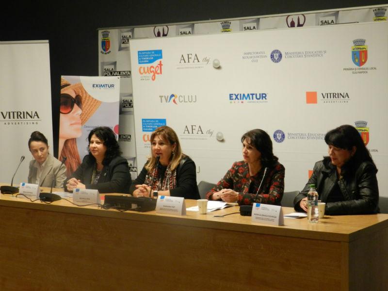 Conferinta de presa Cuget Olimpiada de Cultura Generala a Tinerilor Cluj (AFA Cluj, 12.11.2015)