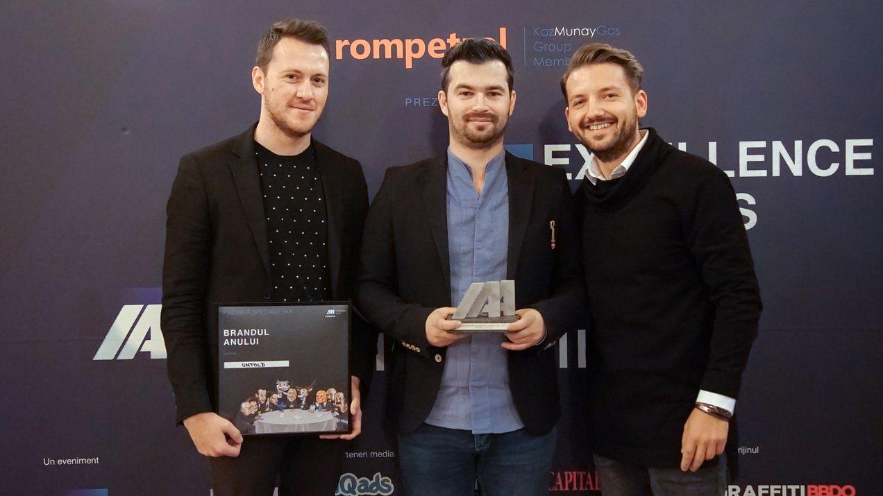 UNTOLD, Brandul Anului 2015 în România