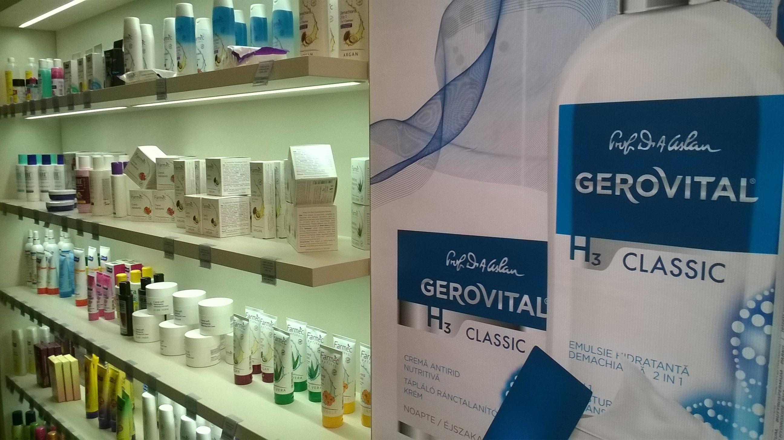 Farmec redeschide magazinul de pe strada Napoca din Cluj-Napoca, ca urmare a unei investiții de 50.000 de euro