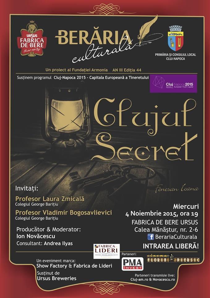beraria culturala clujul secret 4 noiembrie 2015