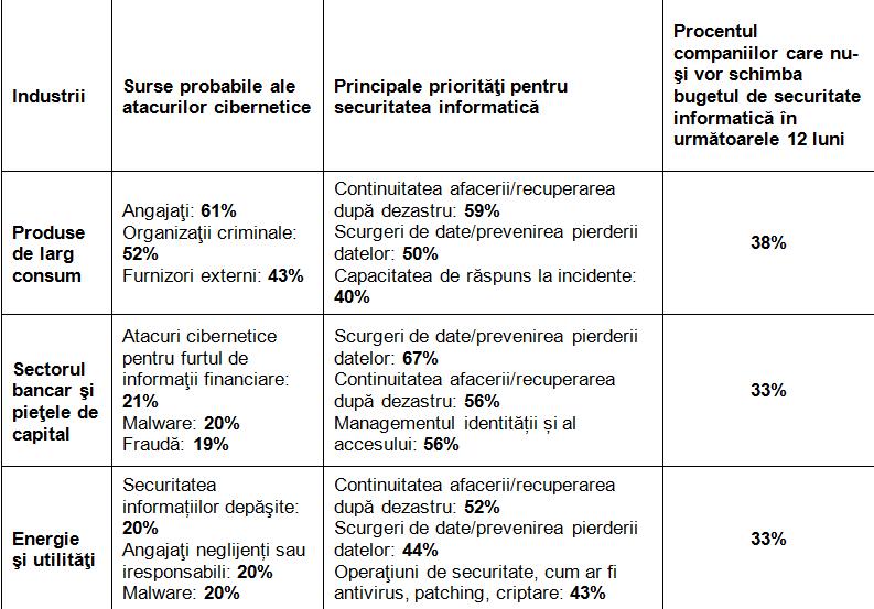 Studiu EY: 88% din companii consideră că securitatea informatică nu satisface pe deplin nevoile organizaţiei