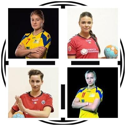 handbaliste U Cluj convocate la nationala de tineret
