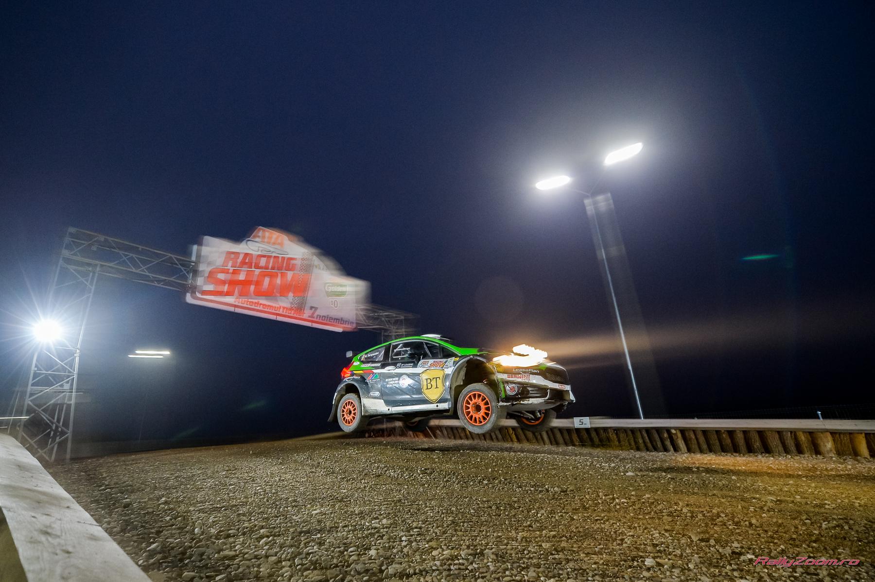 Napoca Rally Academy a făcut spectacol la ATA Racing Show