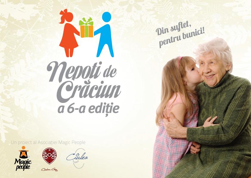 """Nepoți de sărbători pentru 2.000 de bunici din Cluj! """"Nepoți de Crăciun"""" a ajuns la ediția a 6-a"""