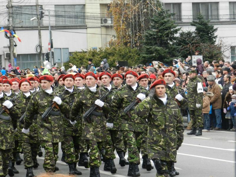 parada militara 1 decembrie cluj