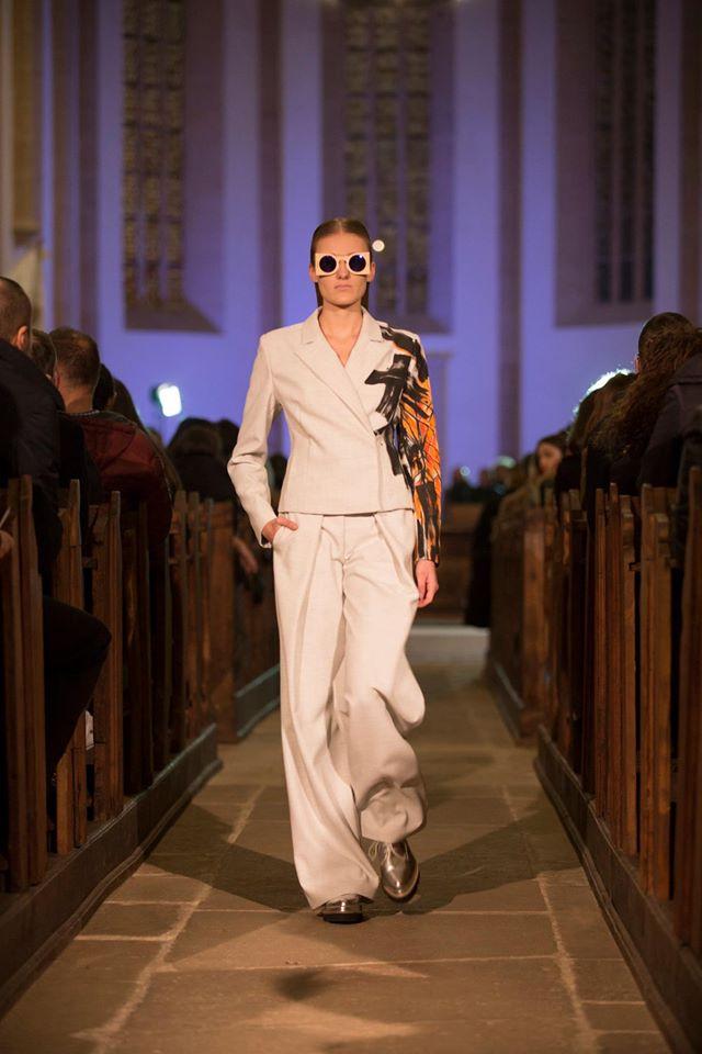 prezentare de moda ZAIN biserica reformata