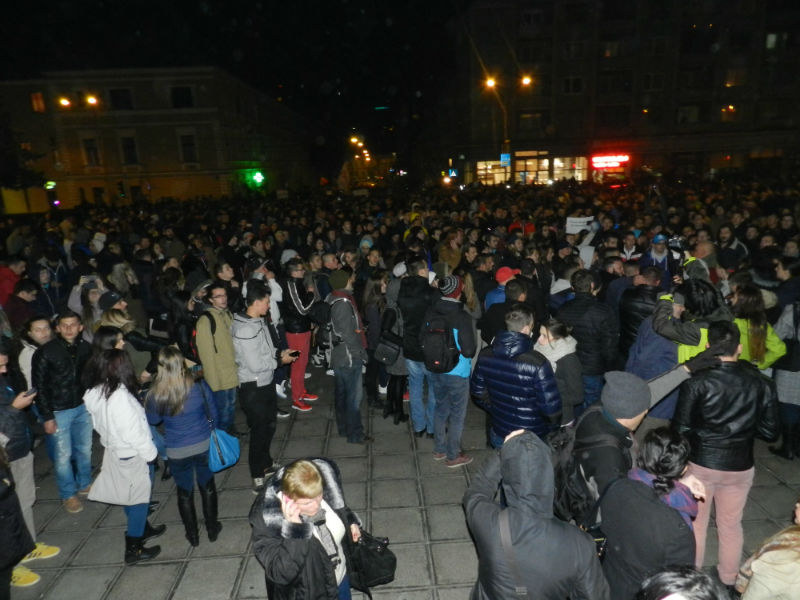 protest cluj 4 noiembrie 2015
