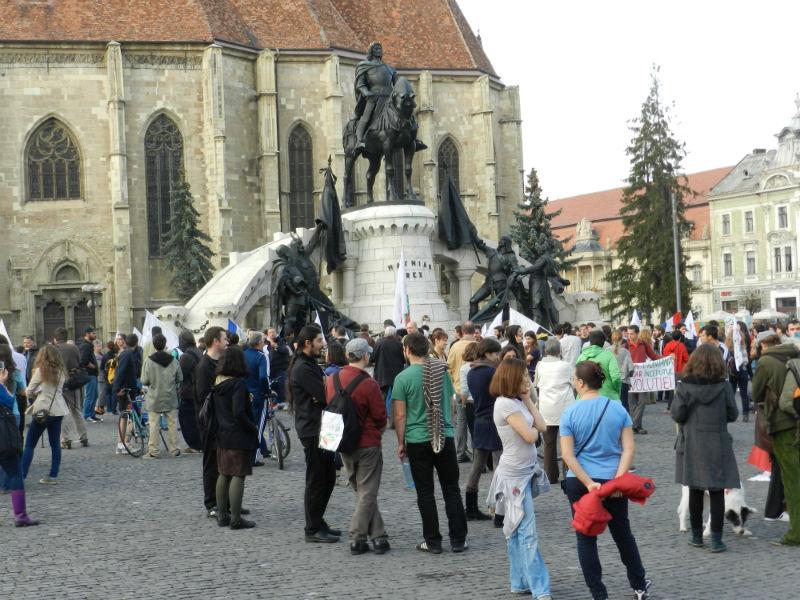 protest piata unirii