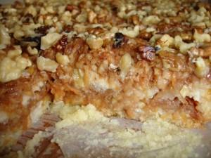 reteta prajitura cu gris si mere