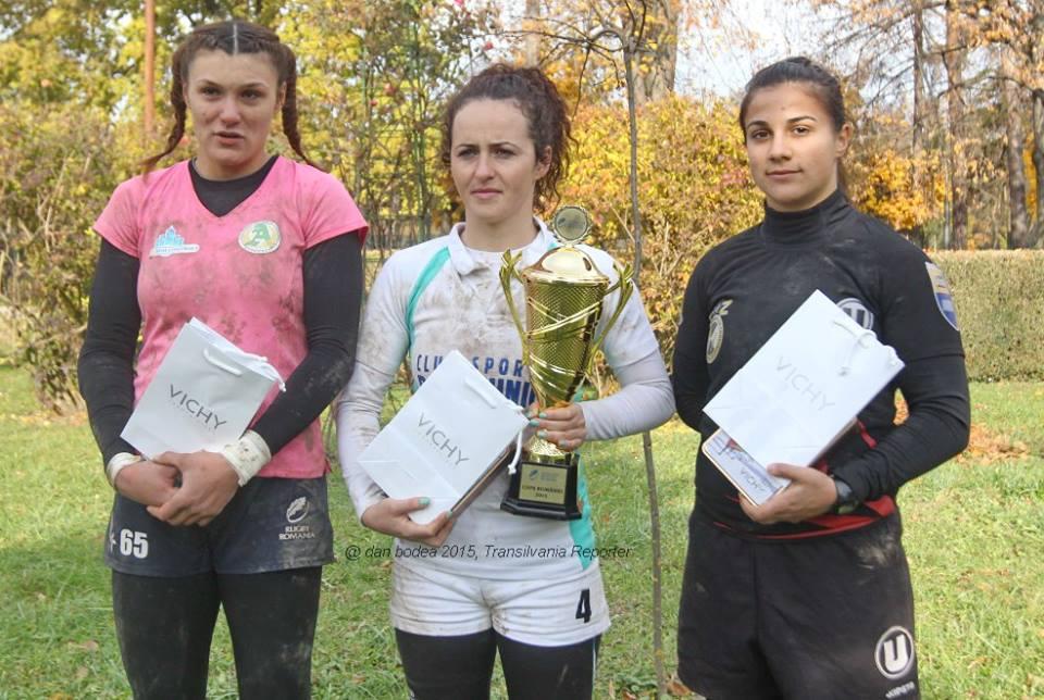 rugby feminin in 7 cupa romaniei U Cluj