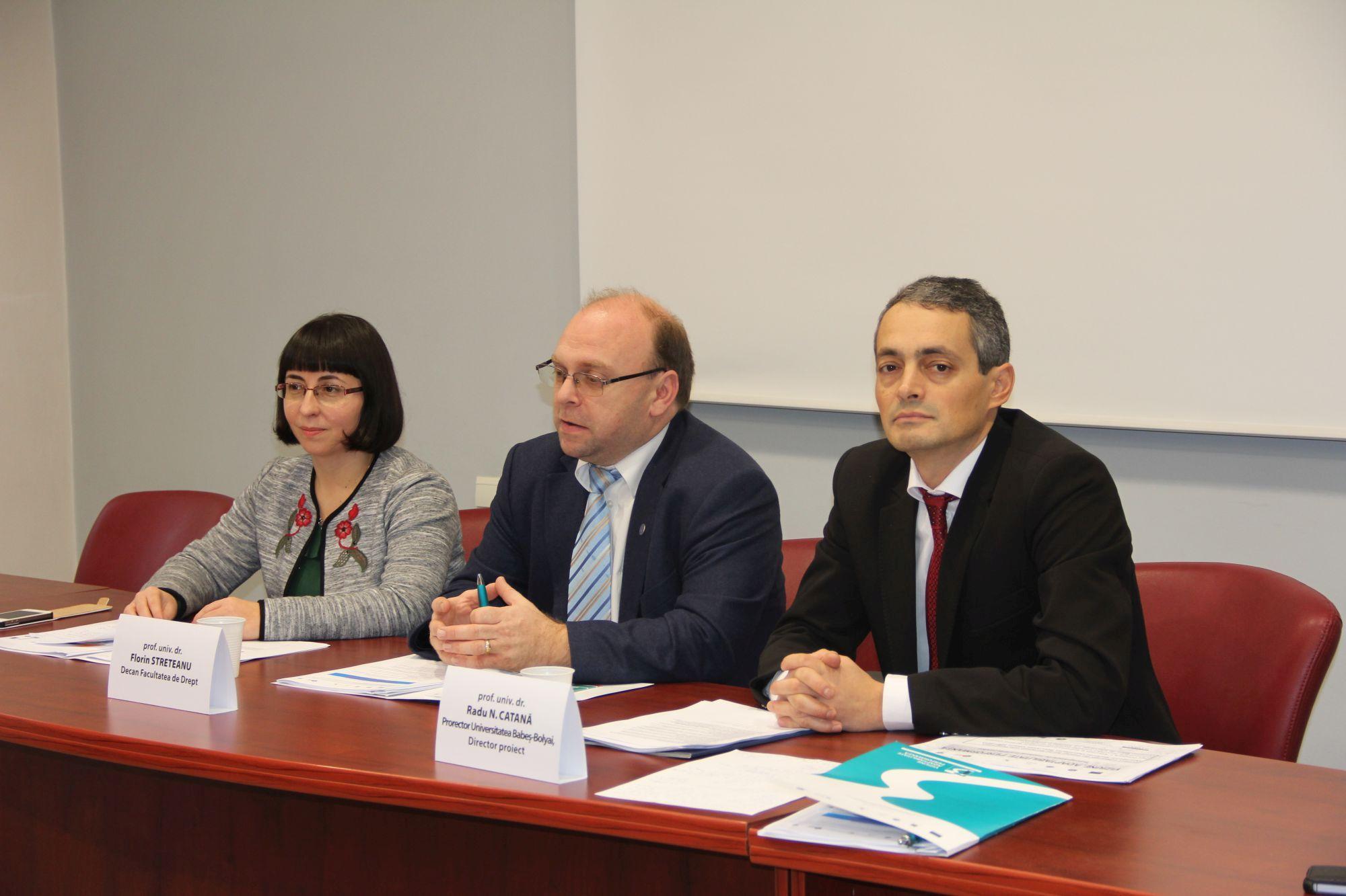 Programe de masterat în științe juridice, la Facultatea de Drept din cadrul UBB Cluj, adaptate la nevoile mediului profesional juridic și la standardele europene