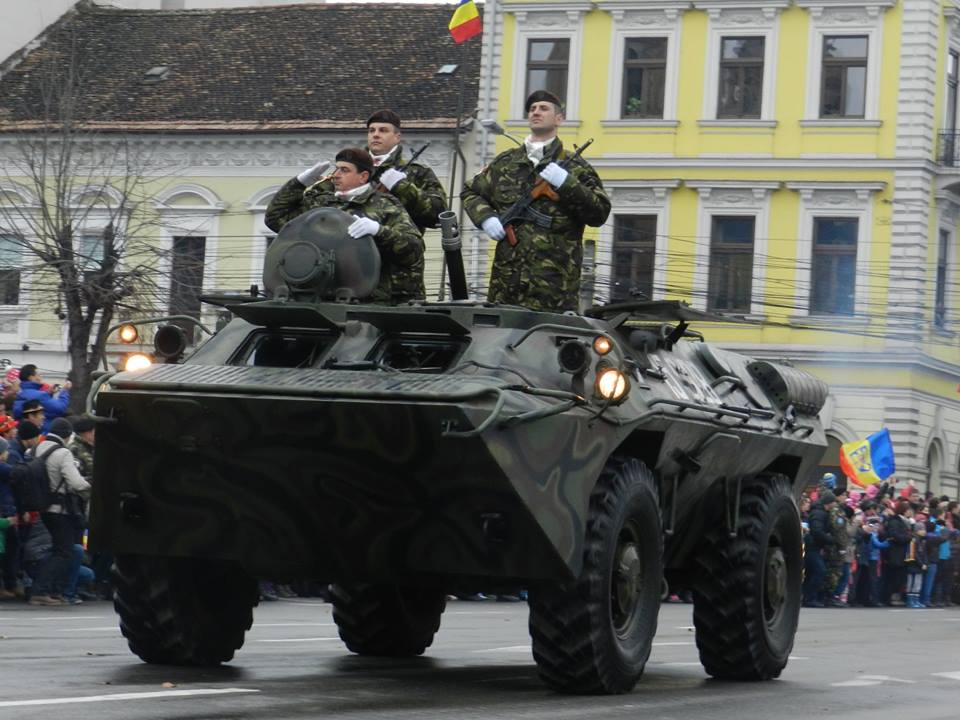 CENTENAR: Armata Română va deplasa la Alba Iulia 1.600 de militari şi 23 de aeronave, de 1 Decembrie!