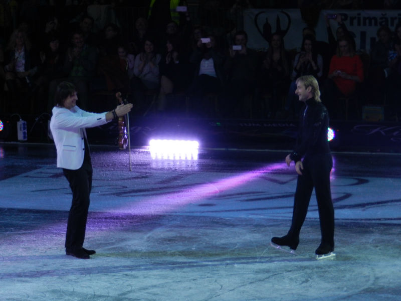 plushenko and edvin marton cluj kings on ice 2015 18 dec