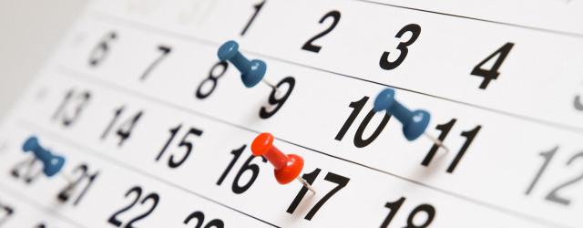 Cum vor cădea zilele libere legale în 2016?