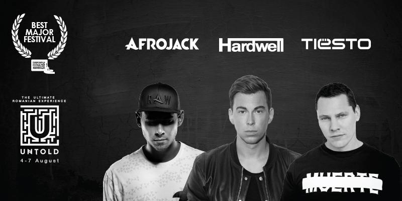 AFROJACK și Hardwell, următorii headlineri anunțați la Untold Festival 2016