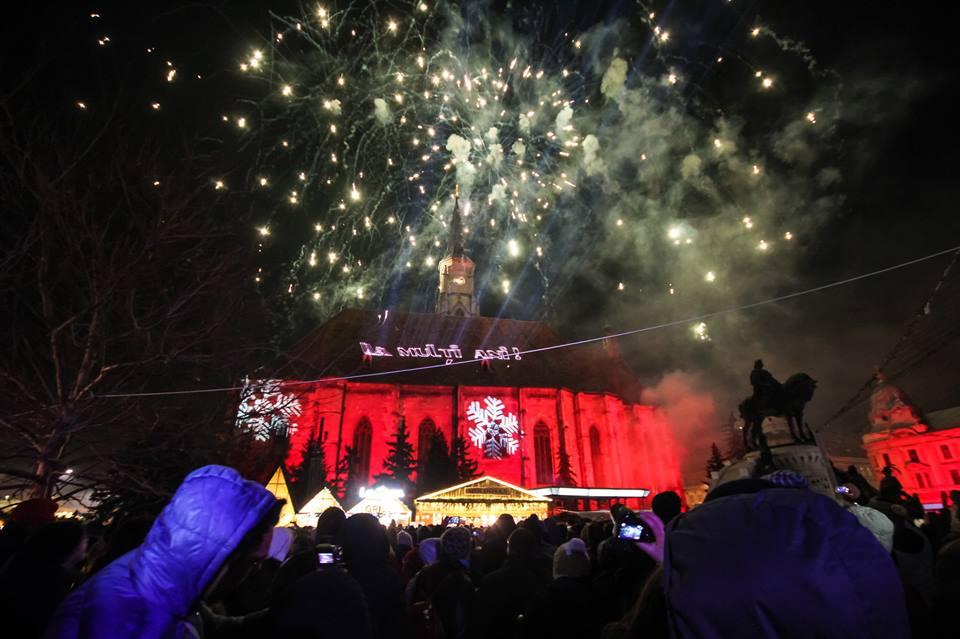 Ziua Unirii, sărbătorită la Cluj cu un concert folcloric și focuri de artificii