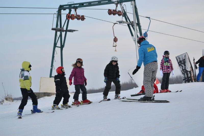 S-a deschis oficial sezonul de schi pe Pârtia Feleacu