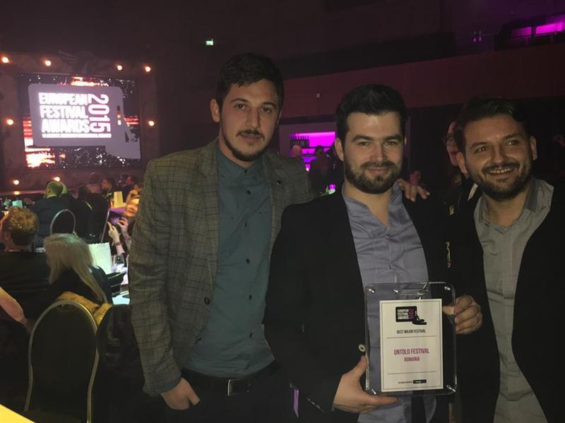 """Untold s-a întors """"acasă"""" cu trofeul Best Major Festival de la European Festival Awards"""