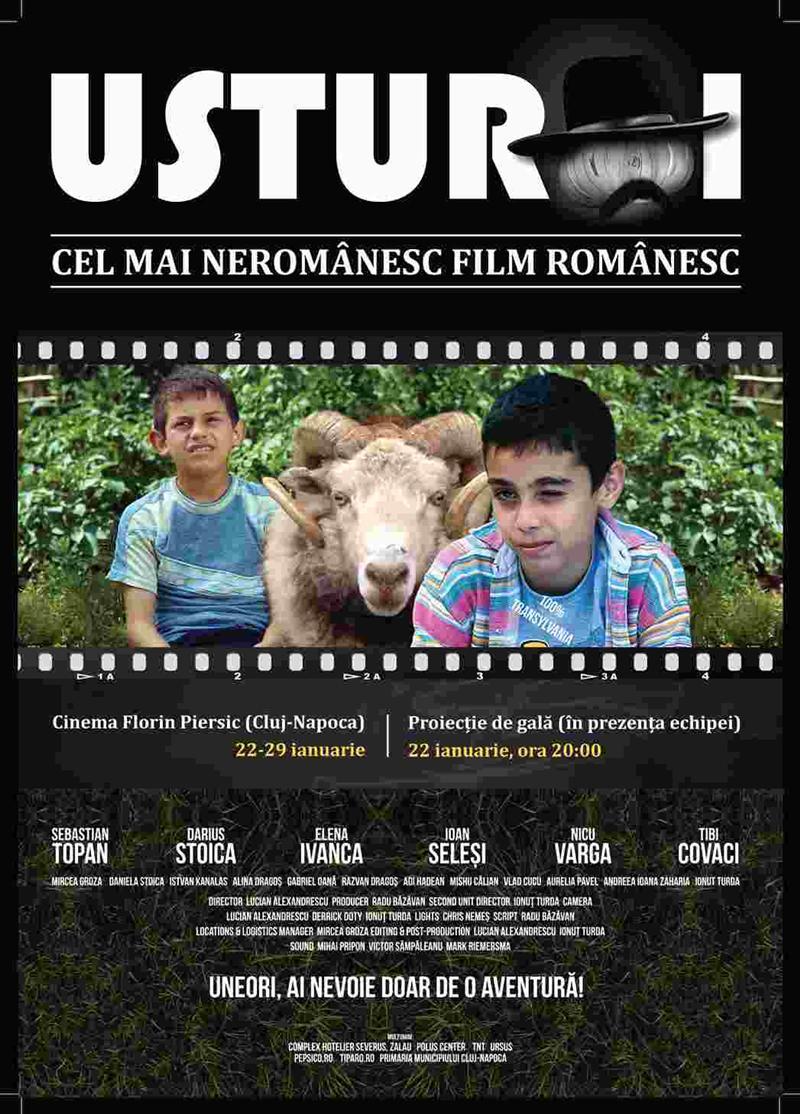 """Filmul independent """"Usturoi"""" ajunge pe Marele Ecran în cinematografele RADEF din toată țara! Premiera de gală va avea loc la Cluj în 22 ianuarie, la Cinema Florin Piersic!"""