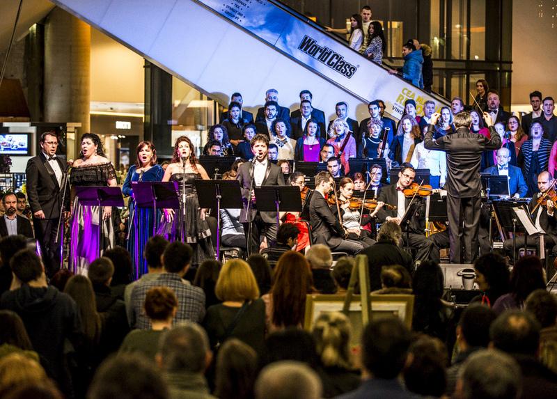 Concert extraordinar al Operei, de Ziua Îndrăgostiților, la Iulius Mall Cluj
