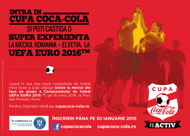 Poster - Cupa Cola-Cola 2016
