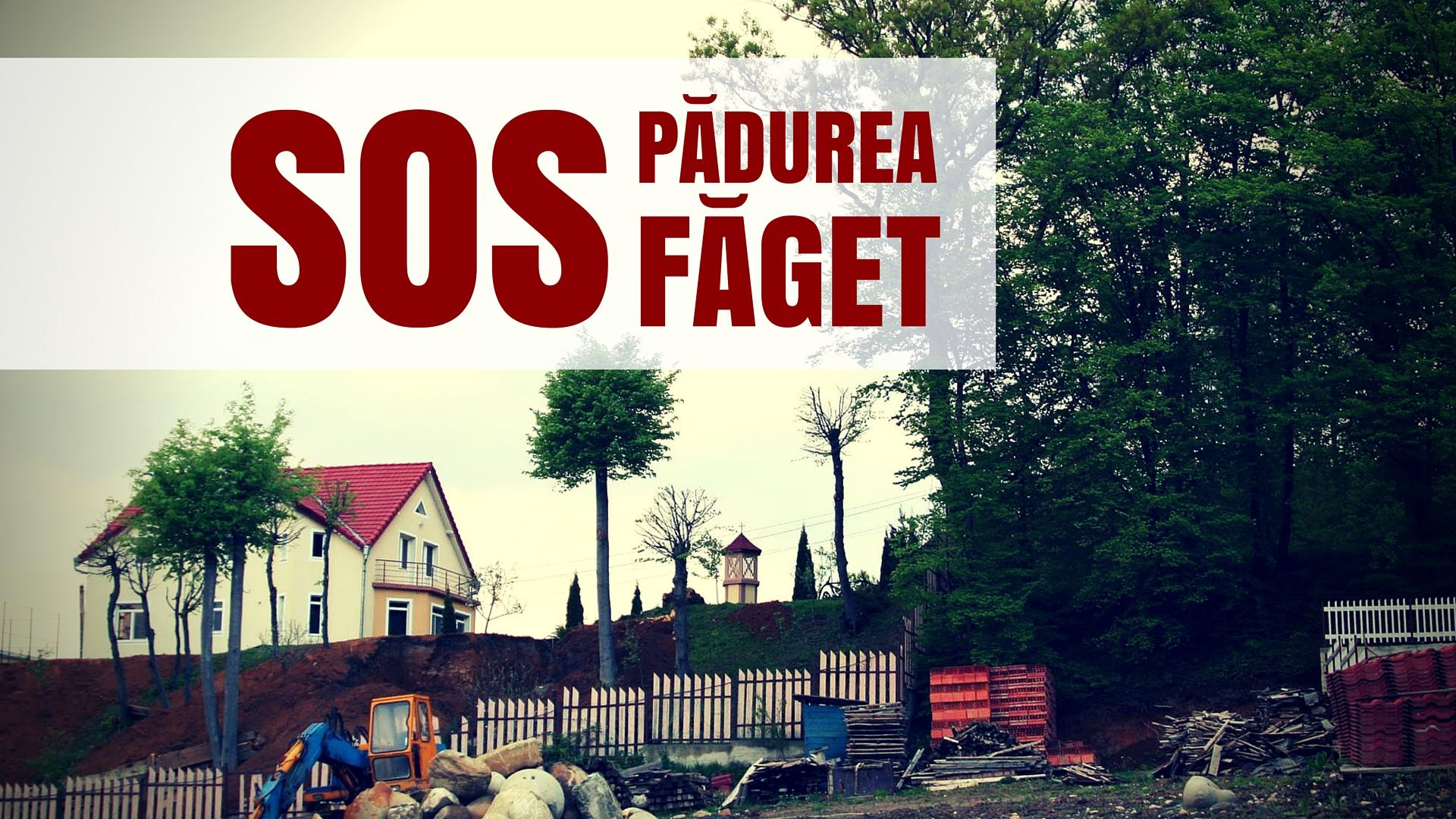 SOS padurea Faget