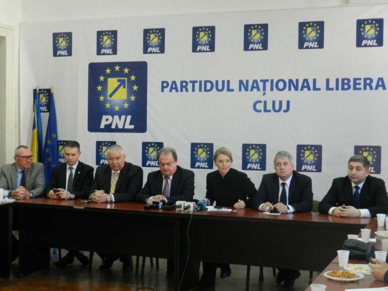 Liderii PNL, Vasile Blaga și Alina Gorghiu, au încredere deplină în Emil Boc că va câștiga al patrulea mandat de primar la Cluj