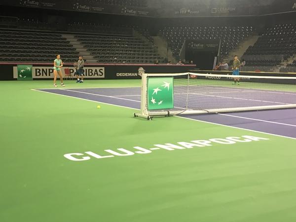 fed cup tenis sala polivalenta cluj