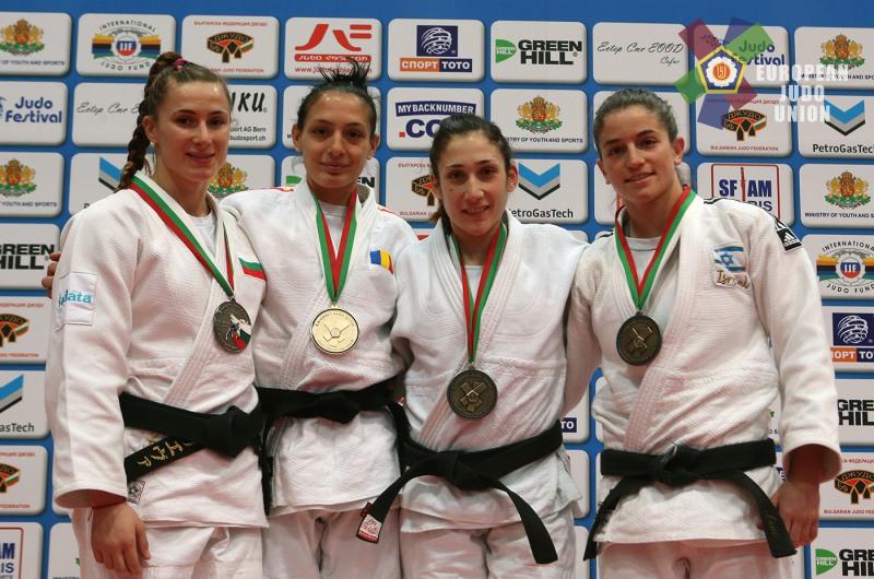 Loredana Ohâi a câștigat medalia de aur la Openul European de Judo de la Sofia