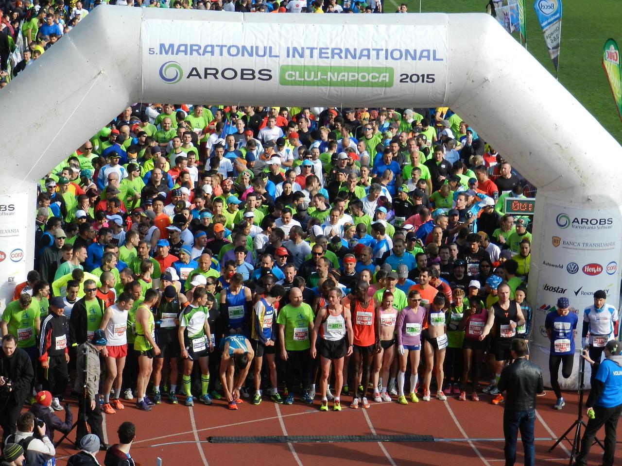 Maratonul Internațional Cluj-Napoca va avea loc în 10 aprilie 2016
