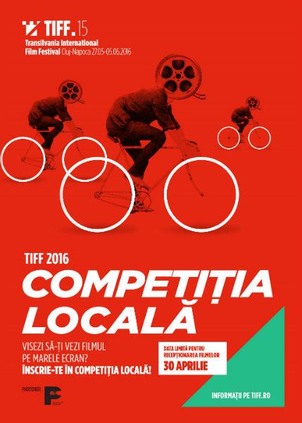 Afis Competitia Locala TIFF 2016