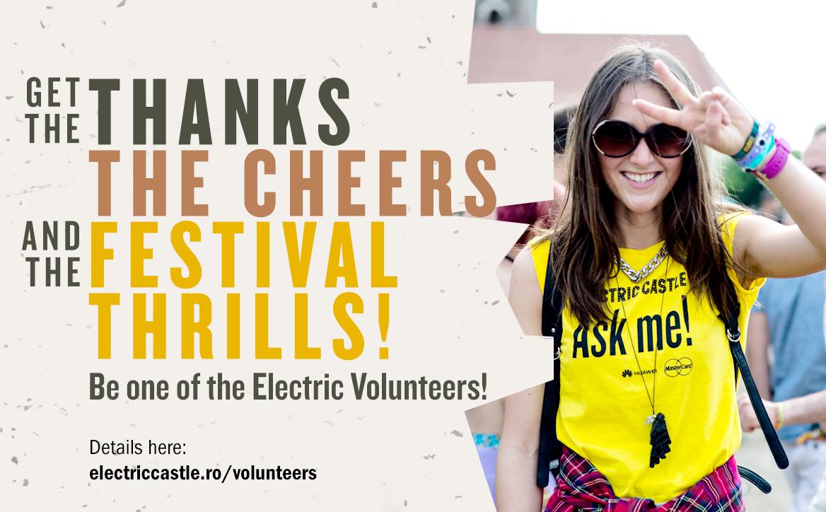 Intră în culisele Electric Castle 2016: Au început înscrierile pentru voluntari