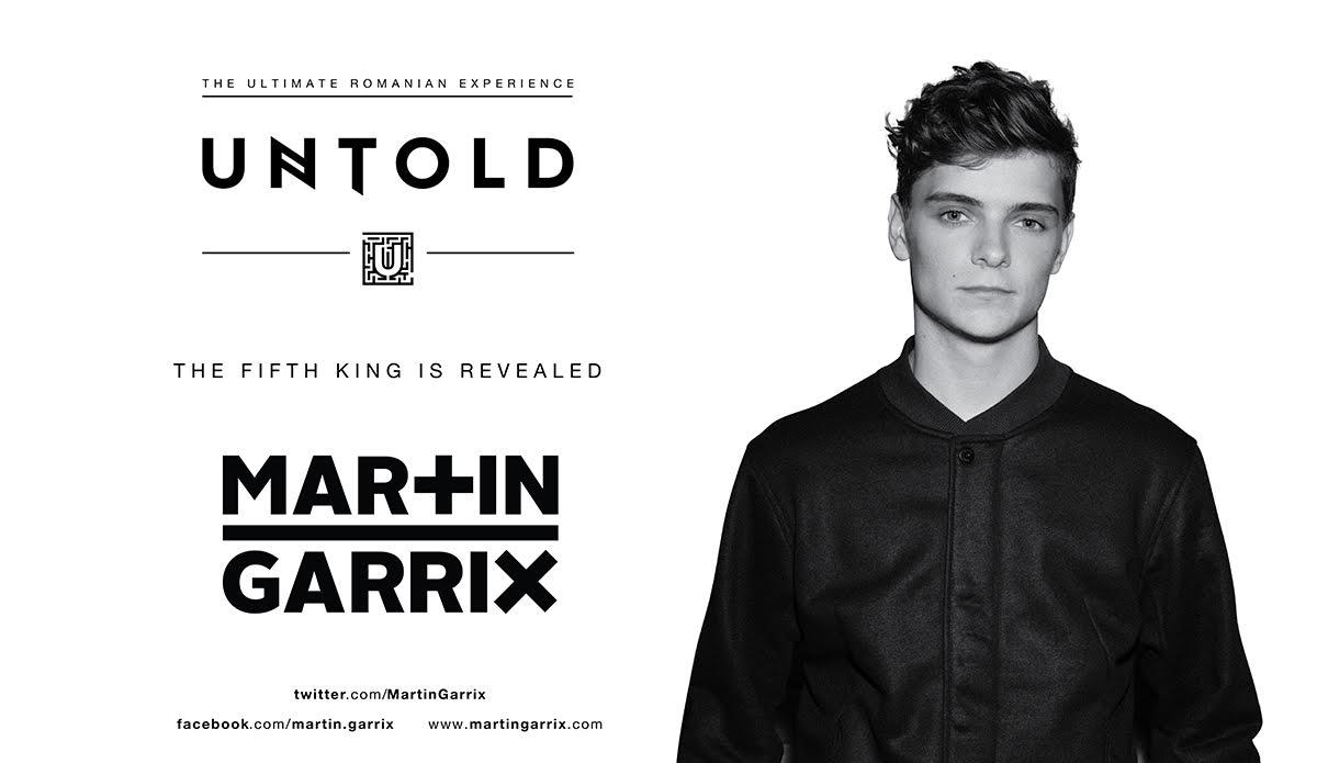 Martin Garrix, pentru prima data in Romania, la Untold Festival 2016! Cel mai tanar superstar al muzicii electronice completeaza lista de headlineri la Untold