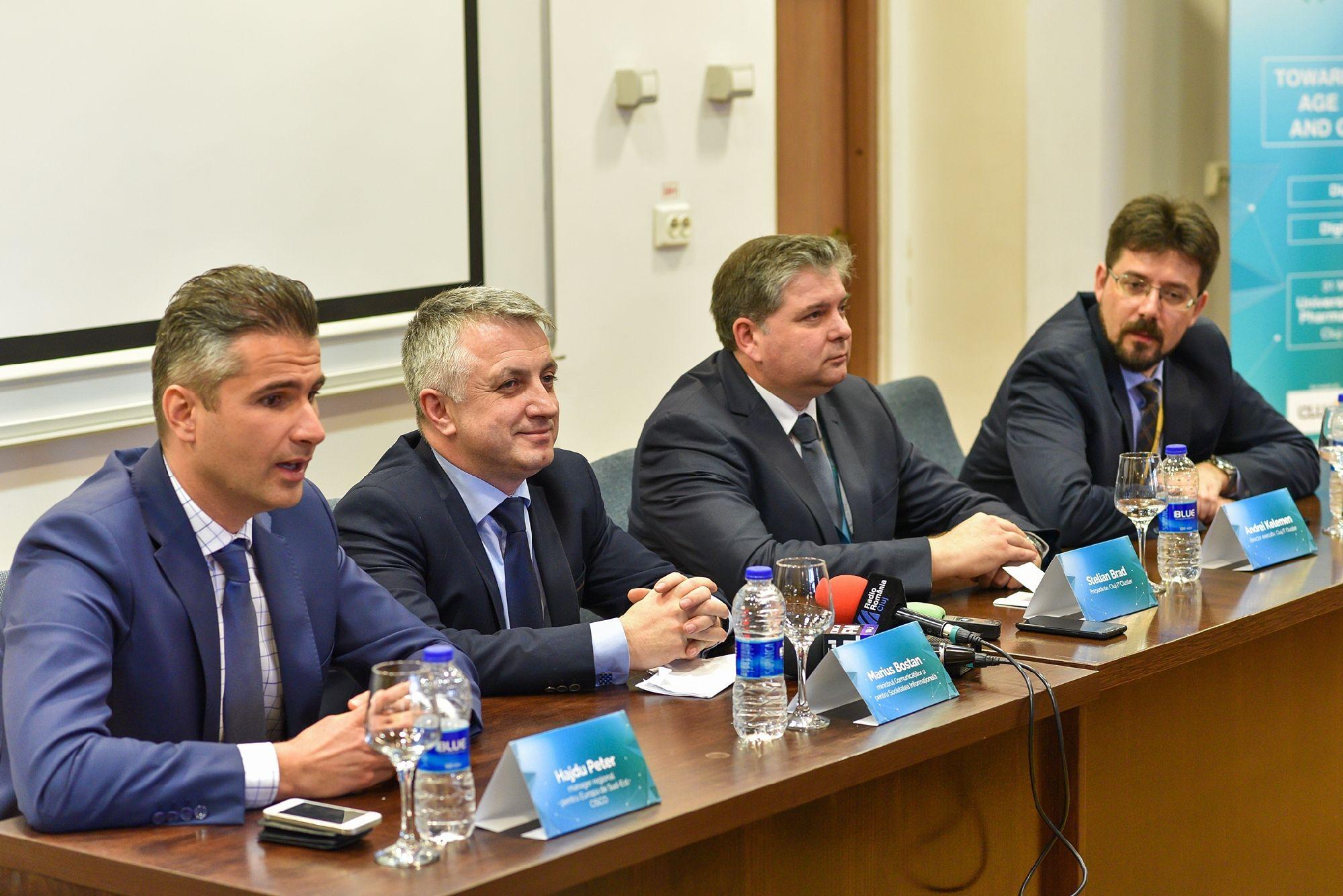 Peter Hajdu, Marius Bostan, Stelian Brad, Andrei Kelemen - foto Nicu Cherciu (2)