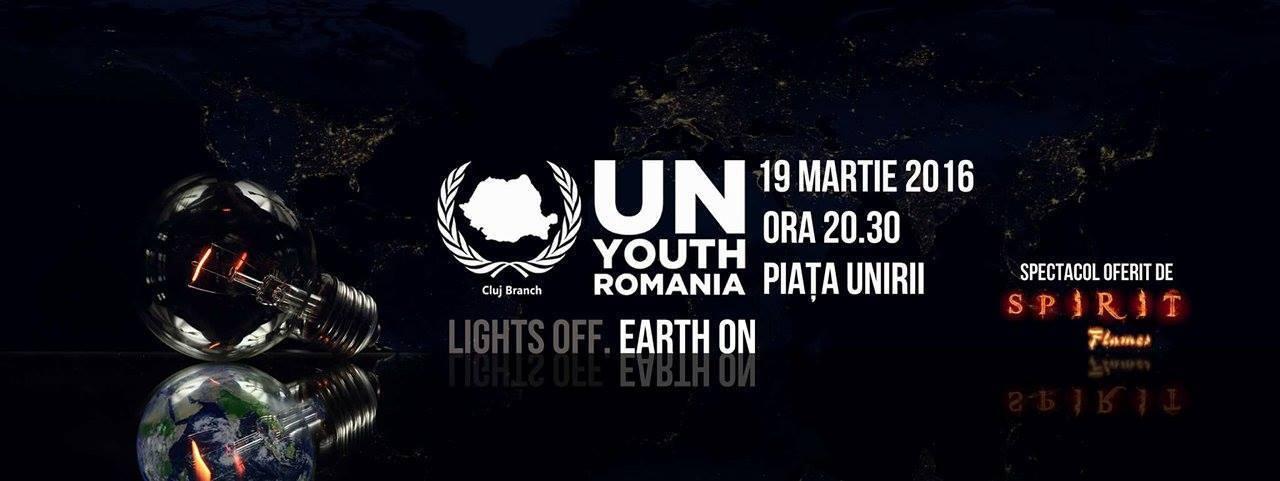 UN Youth Romania ora pamantului 2016