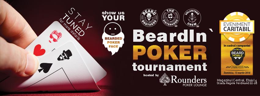 caritabil poker beard brothers 13 martie 2016