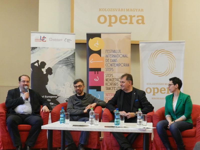 """Cinci spectacole de dans, prezentate la Festivalul Internațional de Dans Contemporan """"STEPS"""""""