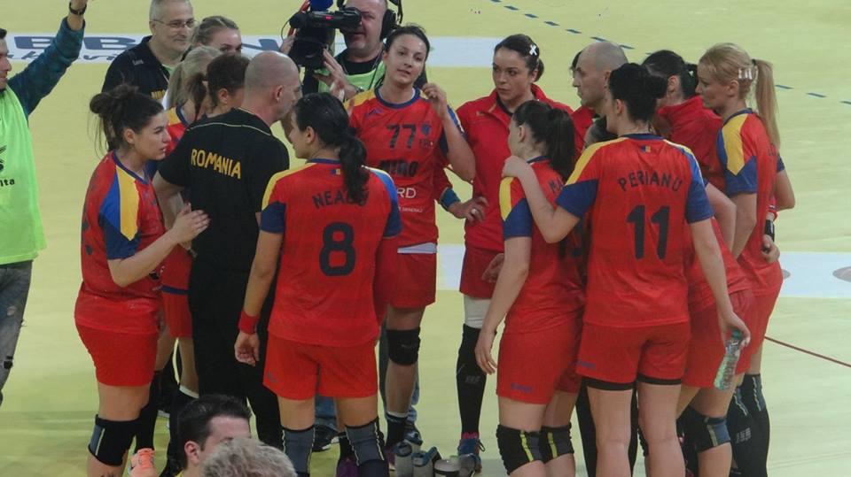 nationala handbal feminin romania - norvegia 25-20