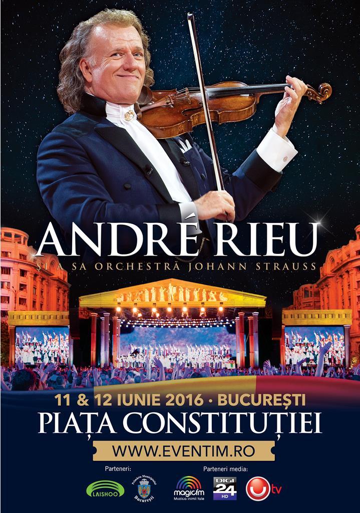 Andre Rieu Bucharest 2016 Poster