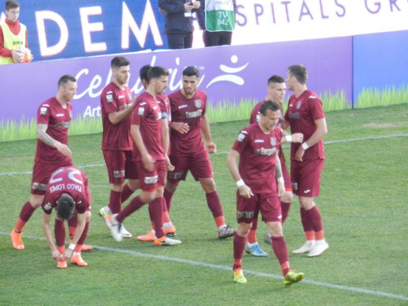 """Victorie importantă pentru CFR Cluj în play-out, 2-0 cu Concordia Chiajna! Juan Carlos Ruiz a reușit o """"dublă"""""""